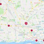 milch & zucker – with locations in Hamburg, Journey-Karte