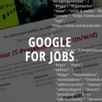 Post image job advertisement from milch & zucker from the Recruiting Software BeeSite and Google for Jobs diagram