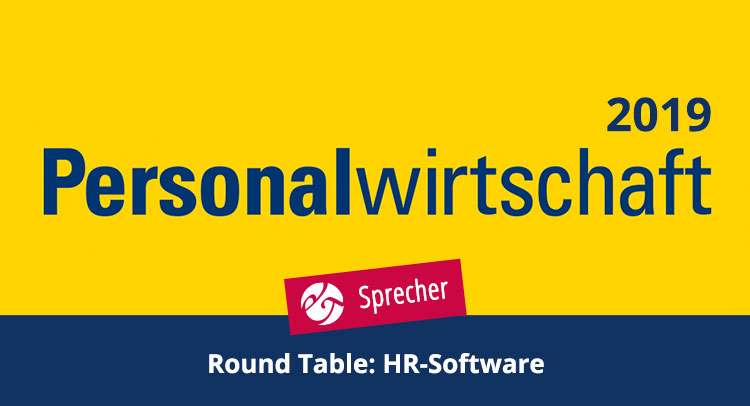 Round table discussion on the topic of HR software 2019