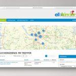 Elbkinder career jobboard result an map