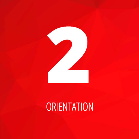 Offering orientation & guidance